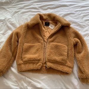 Urban Outfitters Teddy Coat XS